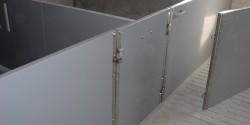 Engraissement HDPE + portillon PVC 2